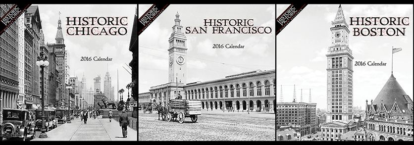 Historic Pictoric's 2016 calendars showcase 36 regions across the US